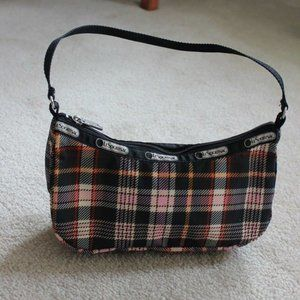 LeSportsac Brown Tartan Purse